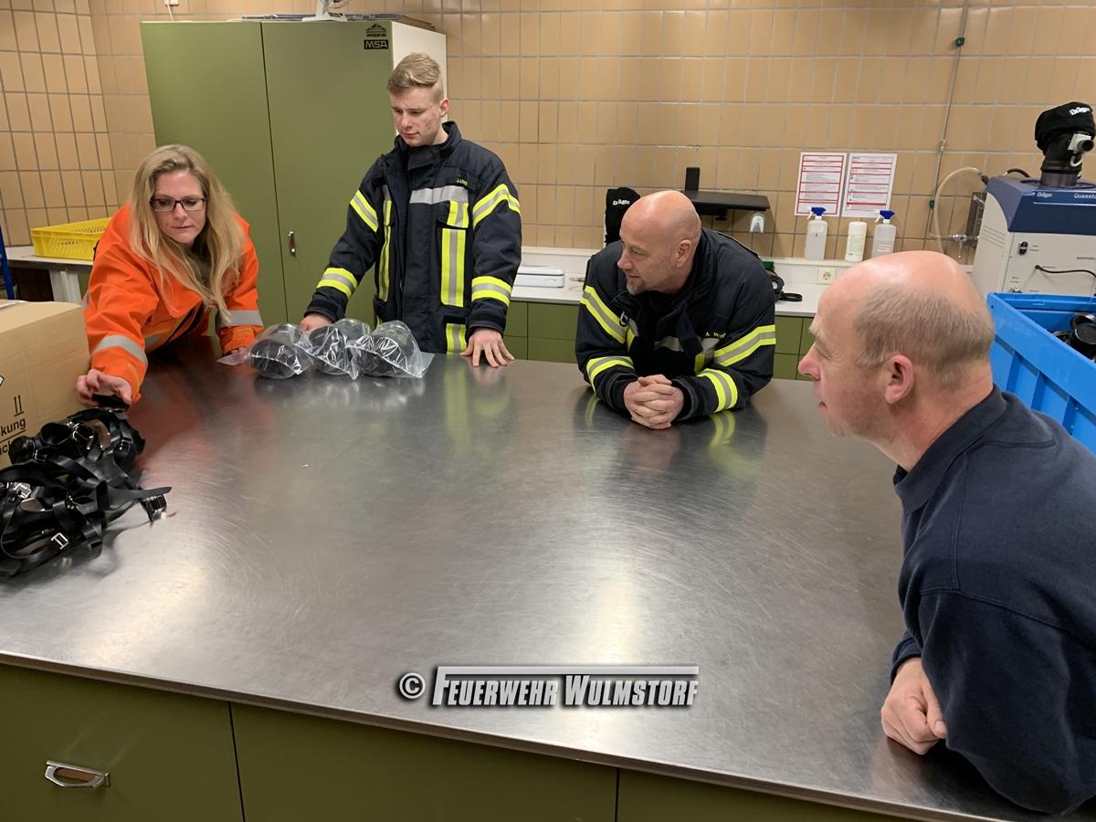 Dienst: Besichtigung der FTZ in Verden - Feuerwehr Wulmstorf