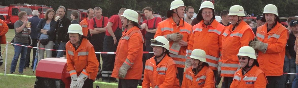 KFB Verden: Kreisbereitschaftsübung - Feuerwehr Wulmstorf
