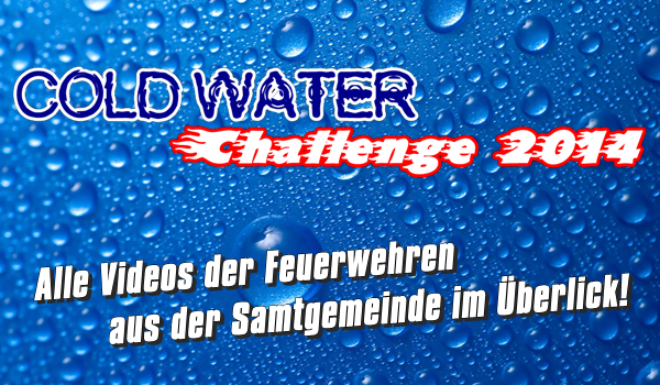 Cold Water Challenge 2014